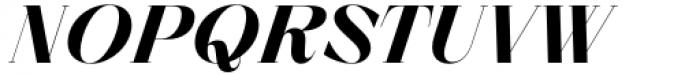 Zermatt Bold Italic Font UPPERCASE