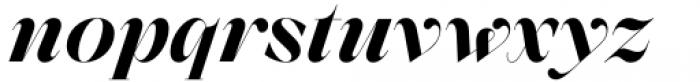 Zermatt Bold Italic Font LOWERCASE