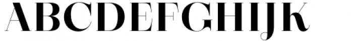 Zermatt Bold Font UPPERCASE