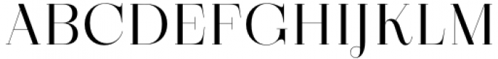 Zermatt Light Font UPPERCASE