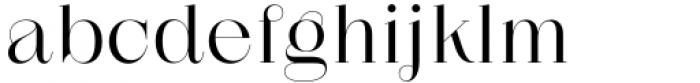 Zermatt Light Font LOWERCASE