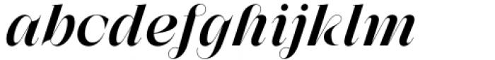 Zermatt Medium Italic Font LOWERCASE