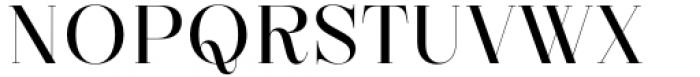 Zermatt Regular Font UPPERCASE