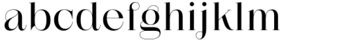 Zermatt Regular Font LOWERCASE