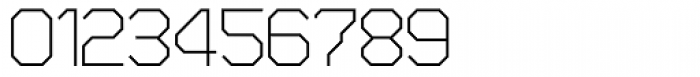 Zero Closed Fine Font OTHER CHARS