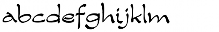 Zest Medium Font LOWERCASE