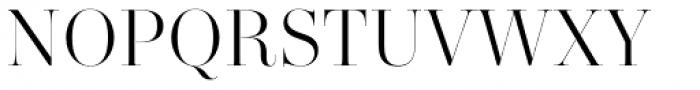 Zesta Light Font UPPERCASE