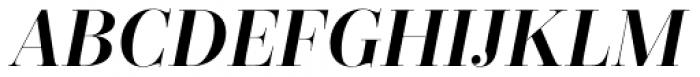 Zesta Medium Italic Font UPPERCASE