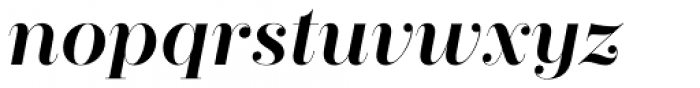 Zesta Medium Italic Font LOWERCASE