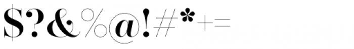 Zesta Medium Font OTHER CHARS