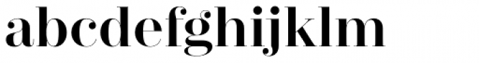 Zesta Medium Font LOWERCASE