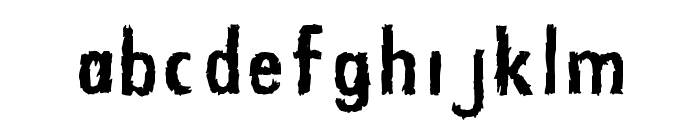 Zfonts Font LOWERCASE