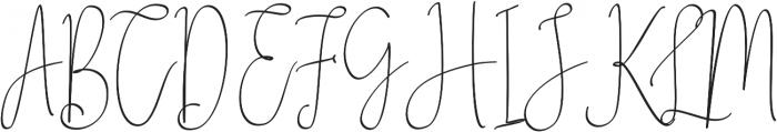Zhafran otf (400) Font UPPERCASE
