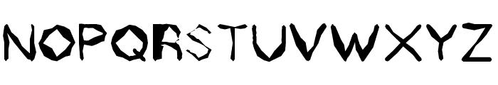 Zholly Display Font LOWERCASE