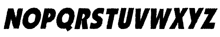 ZhukovZippo-Italic Font UPPERCASE