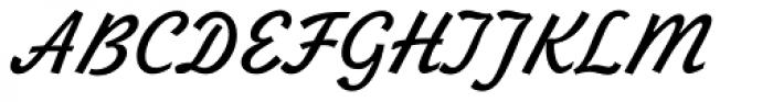 Zhikharev Font UPPERCASE