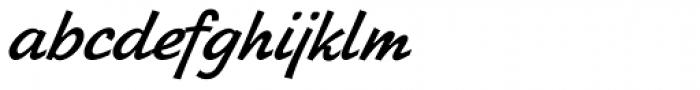 Zhikharev Font LOWERCASE