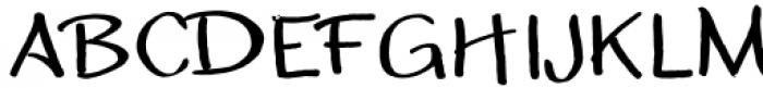 Zhivanii Medium Font UPPERCASE