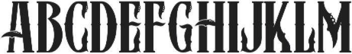 ZIMAT REGULER otf (400) Font UPPERCASE