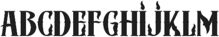 ZIMAT REGULER otf (400) Font LOWERCASE