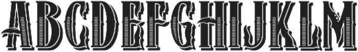 ZIMAT SHADOW II otf (400) Font UPPERCASE
