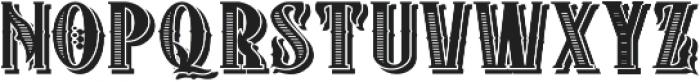 ZIMAT SHADOW II otf (400) Font LOWERCASE