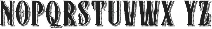ZIMAT SHADOW otf (400) Font UPPERCASE