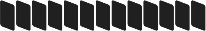 ZiGzAgEo Back otf (400) Font LOWERCASE