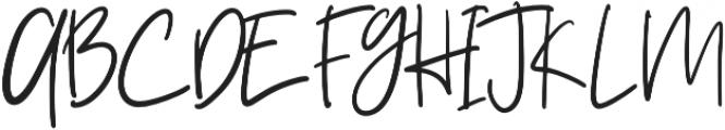 Ziliast otf (400) Font UPPERCASE