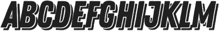 Zing Rust Base Shadow2 otf (400) Font UPPERCASE