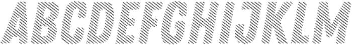 Zing Rust Diagonals2 Base otf (400) Font UPPERCASE