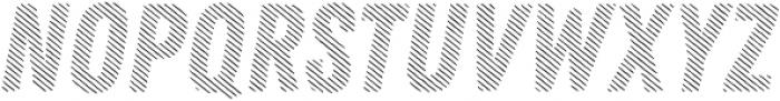 Zing Rust Diagonals2 Base otf (400) Font LOWERCASE