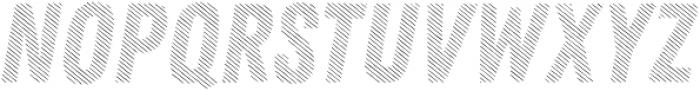 Zing Rust Diagonals3 Base otf (400) Font UPPERCASE