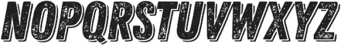 Zing Rust Grunge1 Base Shadow1 otf (400) Font UPPERCASE