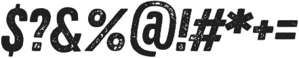 Zing Rust Grunge1 Base otf (400) Font OTHER CHARS