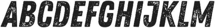 Zing Rust Grunge1 Base otf (400) Font LOWERCASE