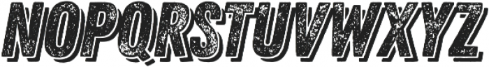 Zing Rust Grunge2 Base Shadow2 otf (400) Font UPPERCASE