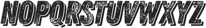 Zing Rust Grunge2 Base Shadow2 otf (400) Font LOWERCASE
