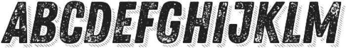 Zing Rust Grunge2 Base Shadow5 otf (400) Font UPPERCASE