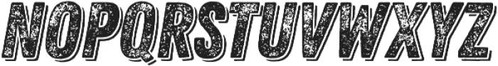 Zing Rust Grunge3 Base Shadow1 otf (400) Font LOWERCASE