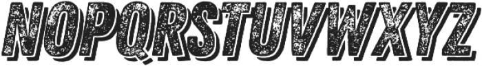 Zing Rust Grunge3 Base Shadow2 otf (400) Font UPPERCASE