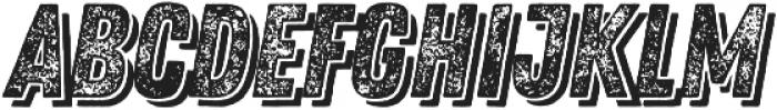 Zing Rust Grunge3 Base Shadow2 otf (400) Font LOWERCASE