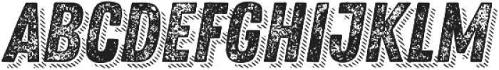 Zing Rust Grunge3 Base Shadow3 otf (400) Font UPPERCASE