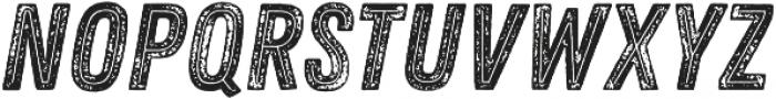 Zing Rust Grunge3 Base2 Line otf (400) Font UPPERCASE
