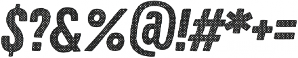 Zing Rust Halftone A1 Base otf (400) Font OTHER CHARS