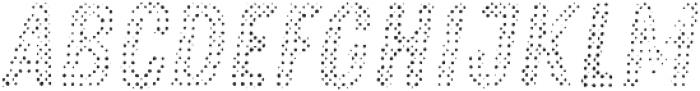 Zing Rust Halftone A3 Fill2 otf (400) Font UPPERCASE