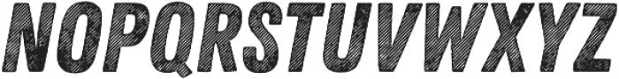 Zing Rust Line Diagonals2 Base otf (400) Font UPPERCASE