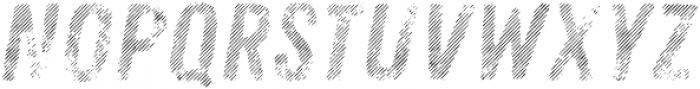 Zing Rust Line Diagonals2 Fill otf (400) Font UPPERCASE
