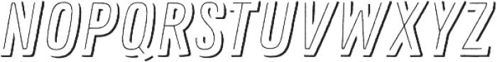 Zing Rust Line Shadow1 otf (400) Font UPPERCASE
