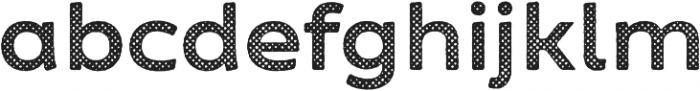 Zing Sans Rust Bold Base Halftone A otf (700) Font LOWERCASE